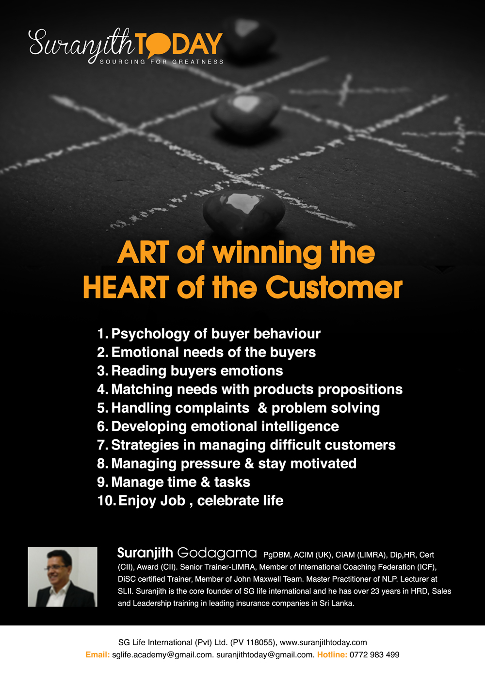 ART of winning the HEART of the Customer