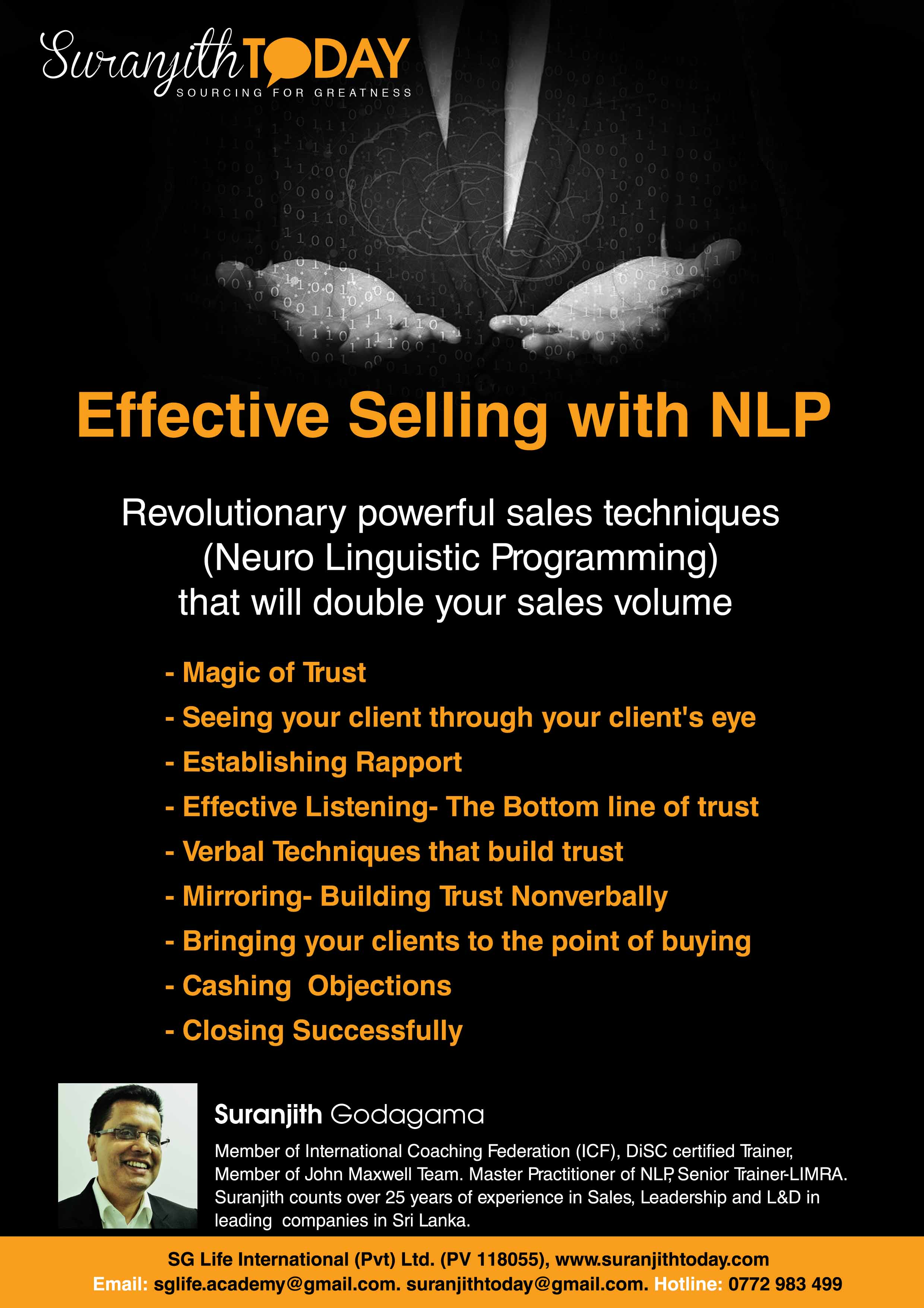 Effective Selling With NLP